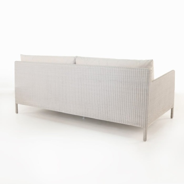 Zambezi Outdoor Wicker Sofa (Chalk)-759