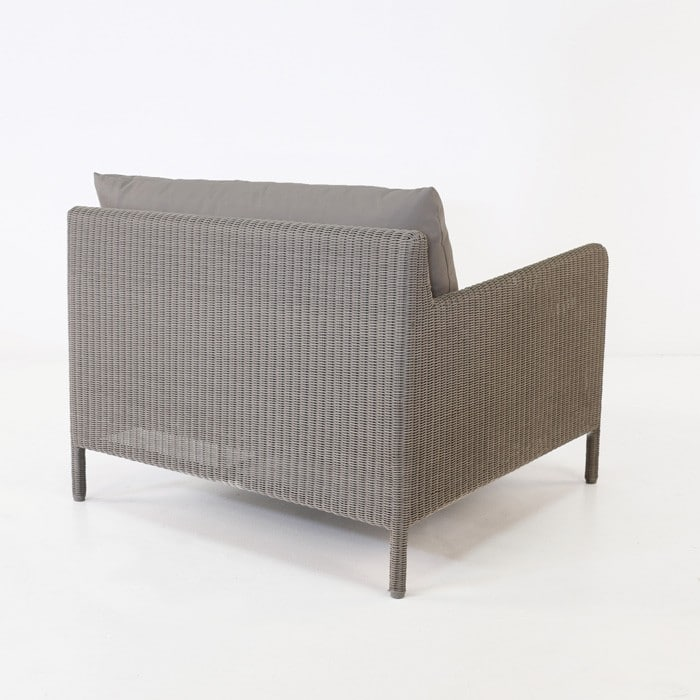 Zambezi Outdoor Wicker Club Chair (Pebble)-768