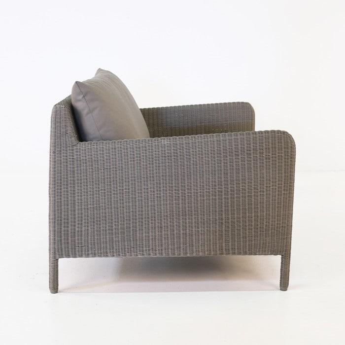 Zambezi Outdoor Wicker Club Chair (Pebble)-766
