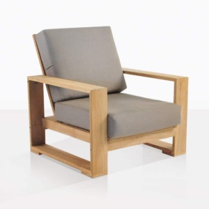 Havana outdoor teak club chair
