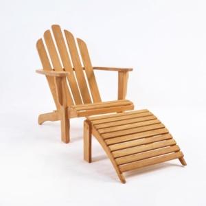 Teak Adirondack Chair Set-1597