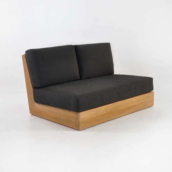 cabana armless loveseat