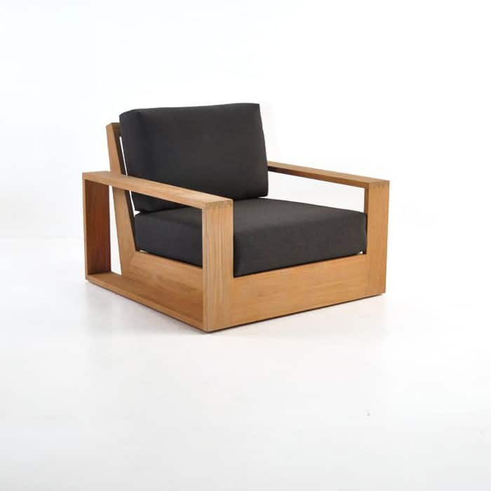 cabana teak club chair