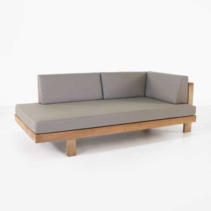 outdoor sectional sofa with cushion