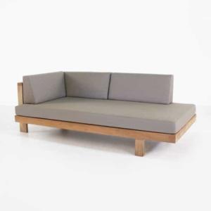 high quality teak outdoor sofa