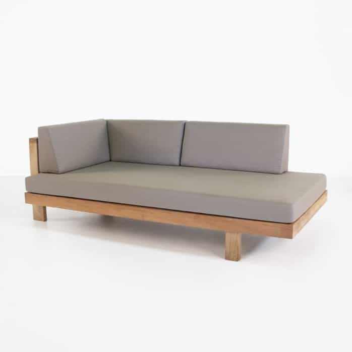 high quality teak outdoor sofa