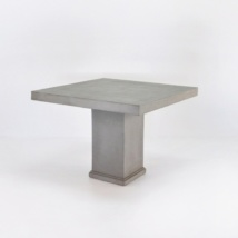 Raw Concrete Dining Table 100cm-0