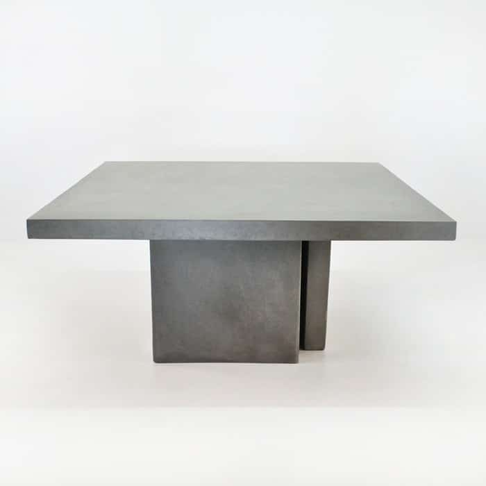 Raw Concrete Dining Table 160cm-1564