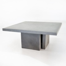 Raw Concrete Dining Table 160cm