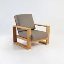 havana teak club chair