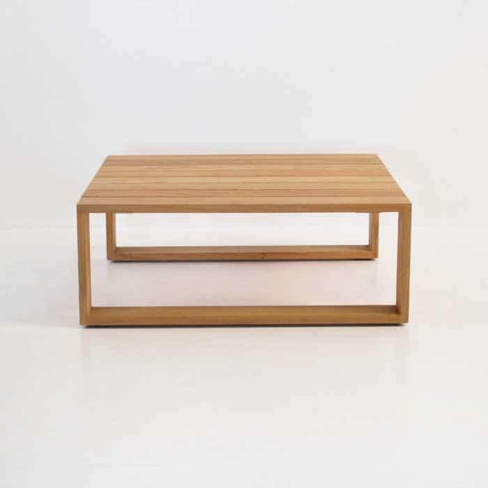 cabana teak coffee table