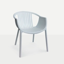 Moon Dining Chair white