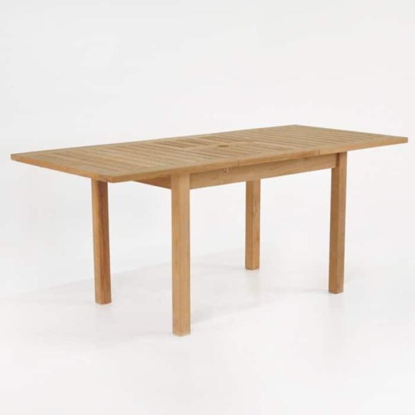 Nova Rectangle Teak Extension Outdoor Dining Tables-1552