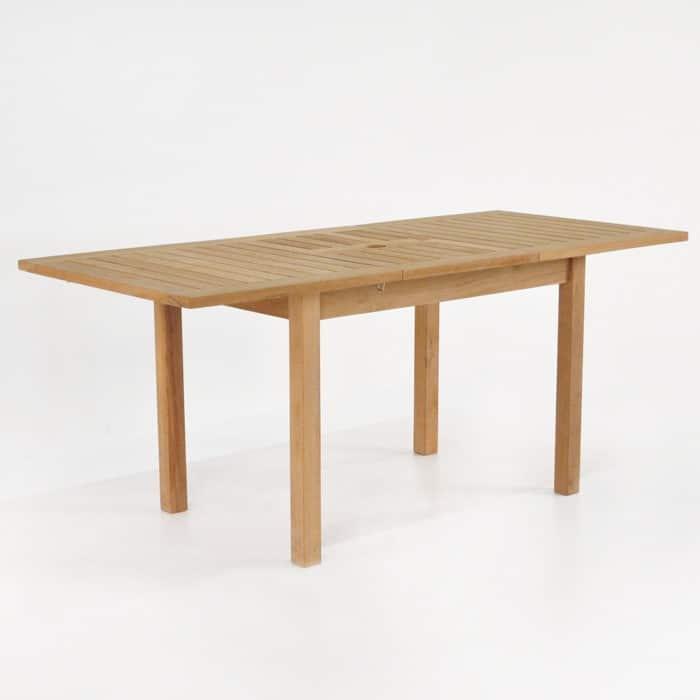 Nova Rectangle Teak Extension Outdoor Dining Tables  : nova rext ext 51 70 2 from designwarehouse.co.nz size 700 x 700 jpeg 36kB