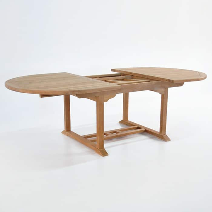 Oval Teak Outdoor Extension Dining Tables Design Warehouse NZ : oval ext 70 94 47 4 from designwarehouse.co.nz size 700 x 700 jpeg 38kB