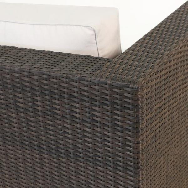 Paulo Outdoor Wicker Sofa (Java)-1945