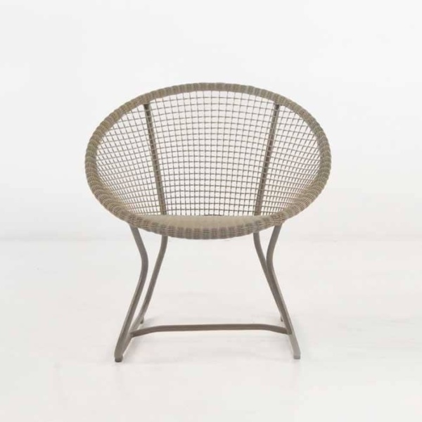 Pietro Outdoor Relaxing Wicker Chair front view