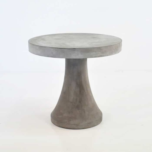 BLOK Concrete Dining Set | Table with 4 Chess Stools-2765