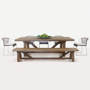 Sophia Wicker Dining Set pic