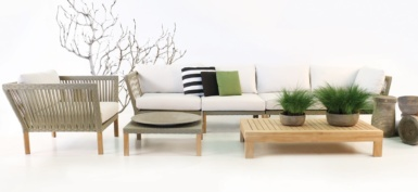 Willow indoor woven furniture