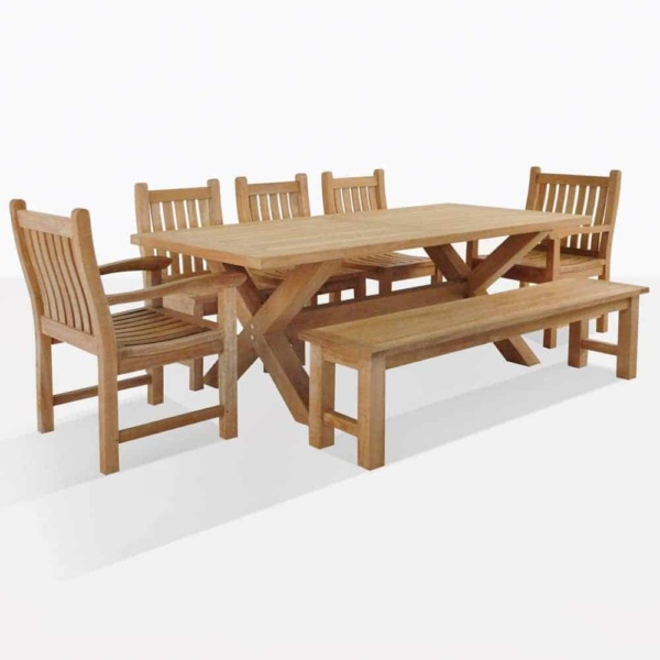 Teak Dining Set For 8
