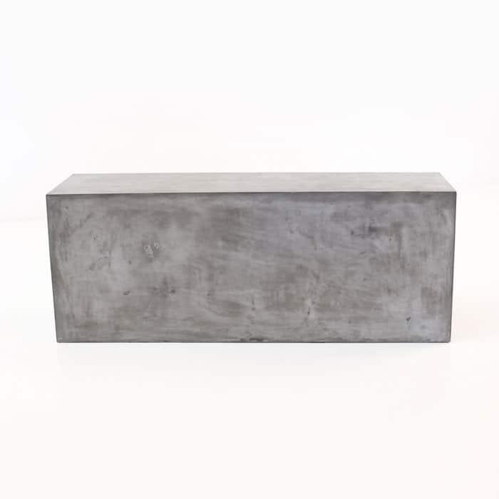 modern concrete bench Blok