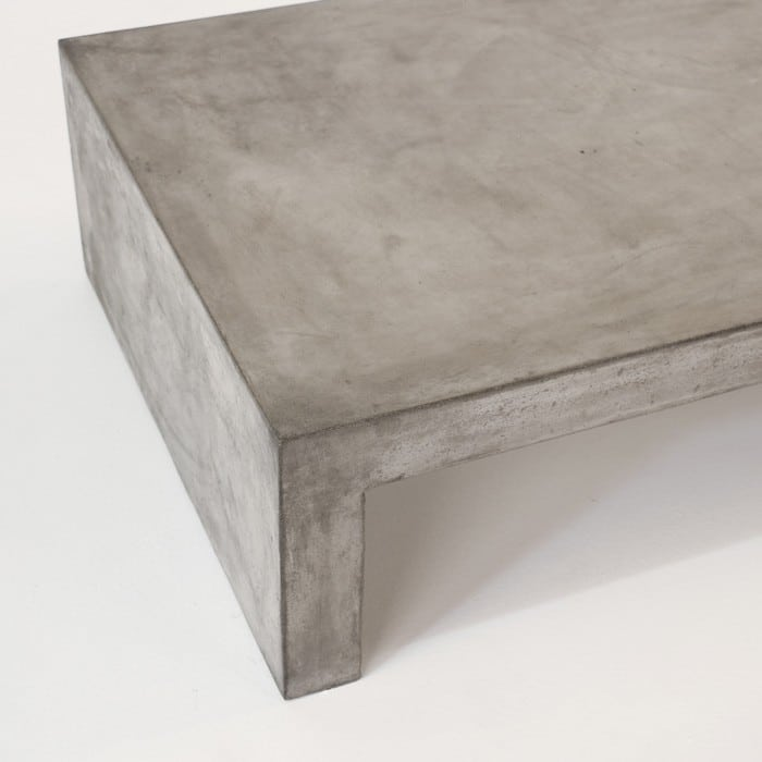 concrete patio coffee table Blok