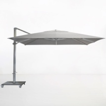Kingston 4 Metre Cantilever Umbrella (Grey)-0