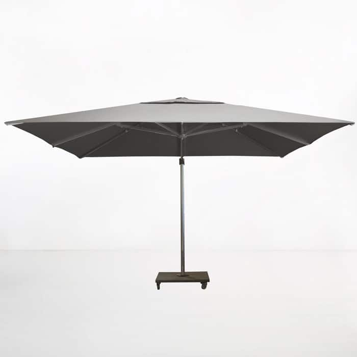 Kingston 4 Metre Cantilever Umbrella (Grey)-2152