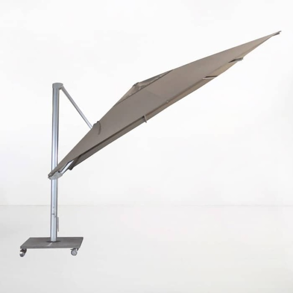 Kingston 4 Metre Cantilever Umbrella (Taupe)-2161