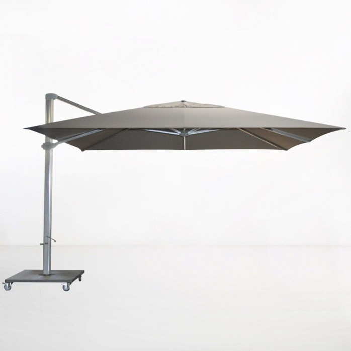 Kingston 4 Metre Cantilever Umbrella (Taupe)-0