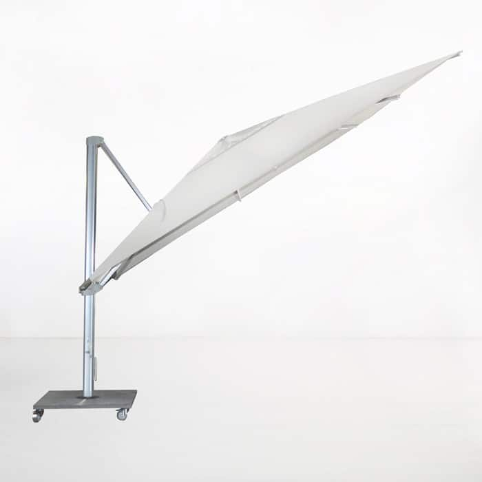 Kingston 4 Metre Cantilever Umbrella (White)-2168