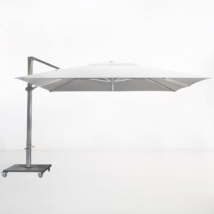 Kingston 4 Metre Cantilever Umbrella (White)-0