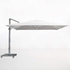 Kingston 4 Metre Cantilever Umbrella (White)-0