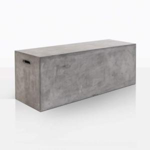 letter box bench concrete anlge