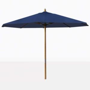 blue outdoor market patio umbrella