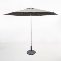 Round Patio Umbrella grey