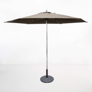 Round Patio Umbrella taupe