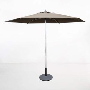 Round Patio Umbrella taupe