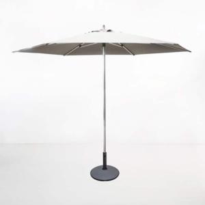 Round Patio Umbrella white