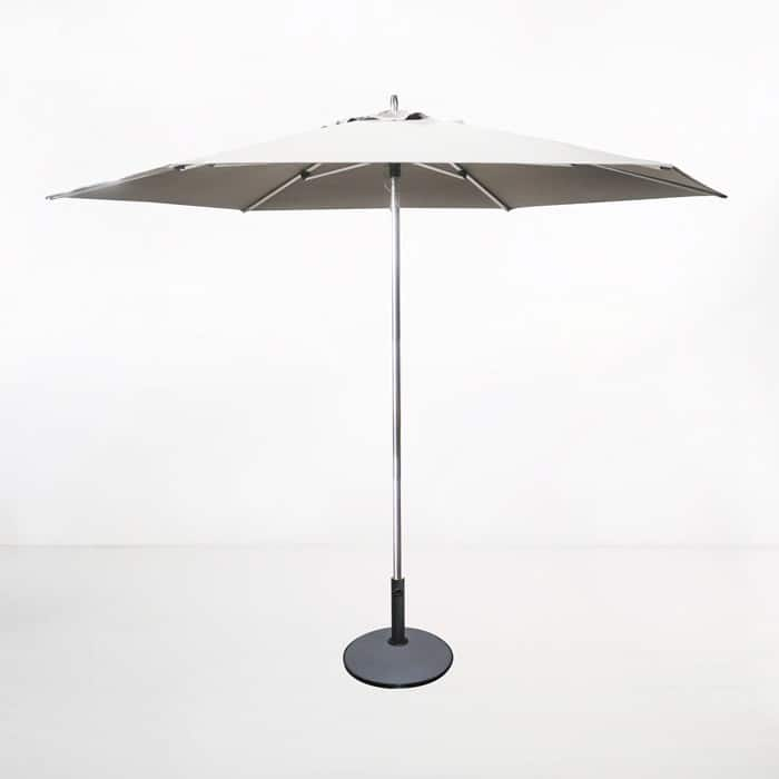 Round Patio Umbrella white