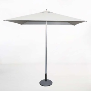 Square Patio Umbrella (White)-0