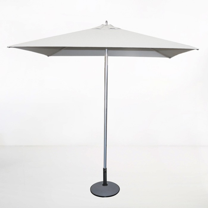 Square Patio Umbrella (White)-0