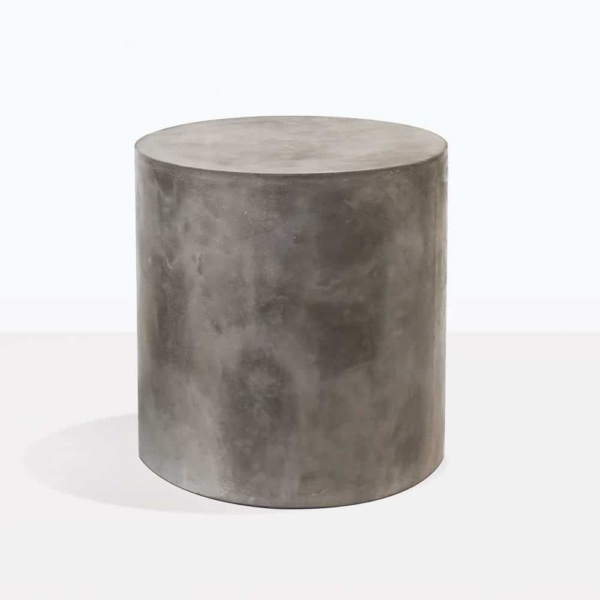 blok side table concrete round large