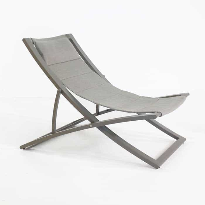 Relaxing Chair Design: Bay Sling Folding Outdoor Relaxing Chair