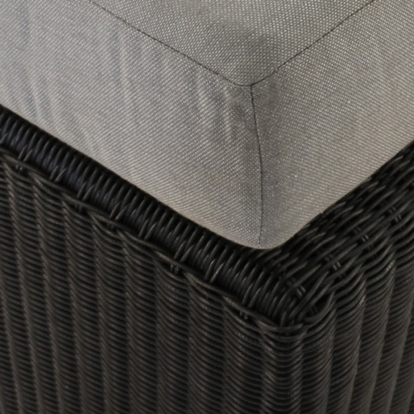 Brooklyn Outdoor Wicker Sectional Center Chair close up