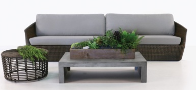Brooklyn Outdoor Wicker Sectional Furniture Collection image