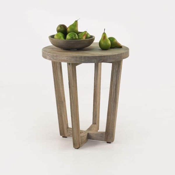 Coco reclaimed teak side table