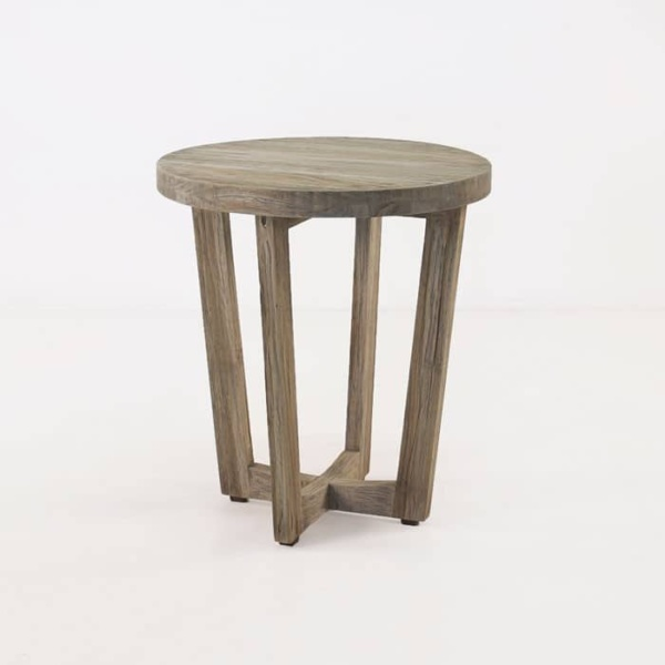 Coco teak accent table