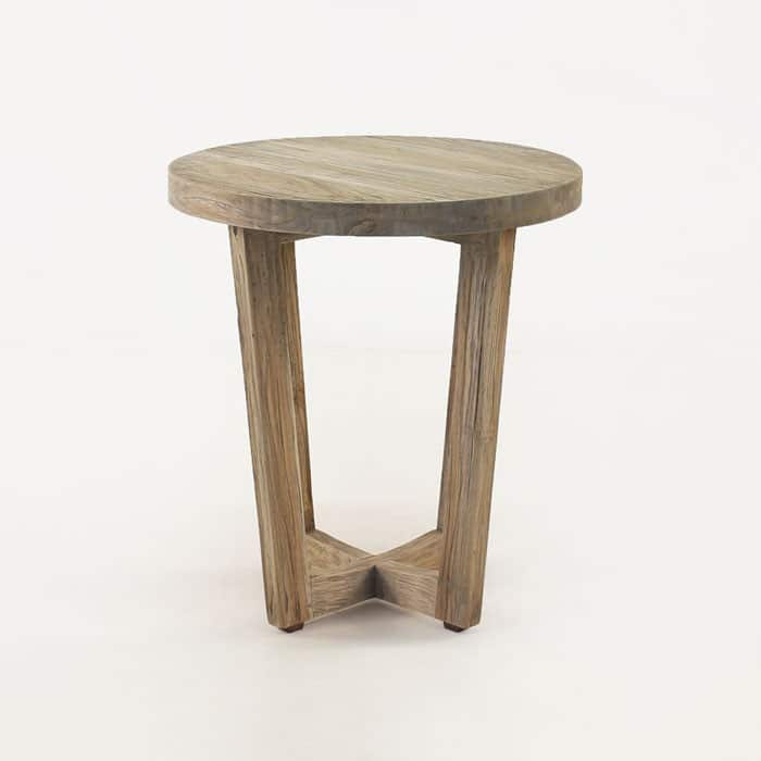 Coco teak outdoor side table design warehouse nz for Outdoor teak side table